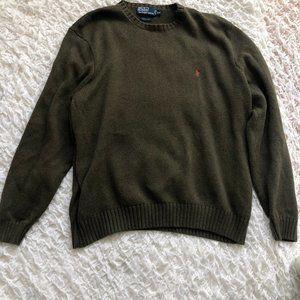 Polo Ralph Lauren Green Men's Crew Neck Sweater